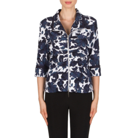 Joseph Ribkoff - Cotton stretch Jacket