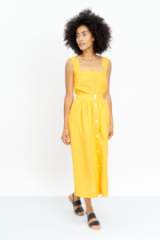 Jungle Folk - Rachel top - Banana yellow