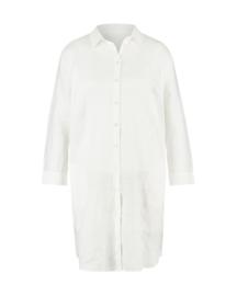 Mara May - linen blouse long - white