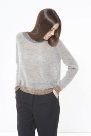 Gazel Pullover bronz zilve grey