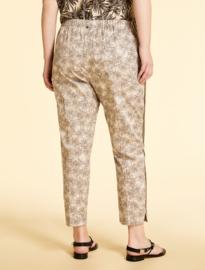 Marina Rinaldi - Gabardine trousers - Dark beige