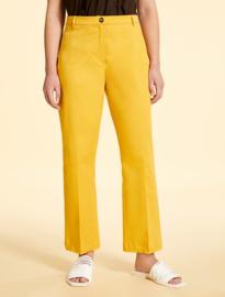 Marina Rinaldi - Cotton garbardine trousers - OCRA