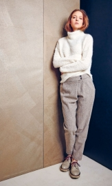 Cropped Trouser - wool