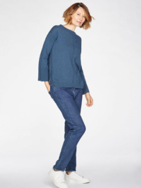 THOUGHT - PERILS PULLOVER -  MAJOLICA BLUE