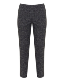 Verpass Patterned slim fit trousers