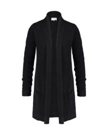 MaraMay - zwart katoen vest