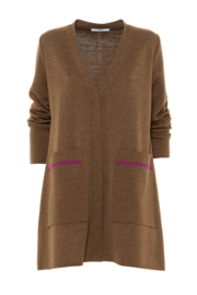 Gazel - Vest brown pink