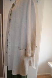 Qneel - Crunch linen jacket - creme