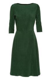 Gazel - Green ribcord dress
