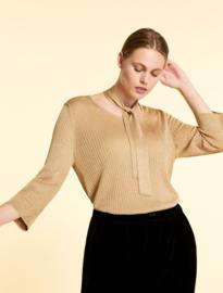 Marina Rinaldi - Gold lurex pullover