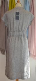 Lana - linnen dress - light grey
