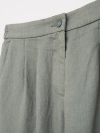 White Stuff - Maddie linen trouser -  green