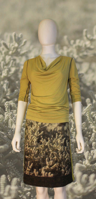 icke berlin - Skirt Coral