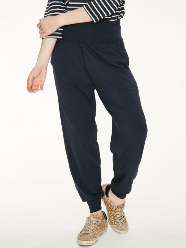 THOUGHT -  BAMBOO DASHKA COMFY LOUNGEPANTS - BLACK