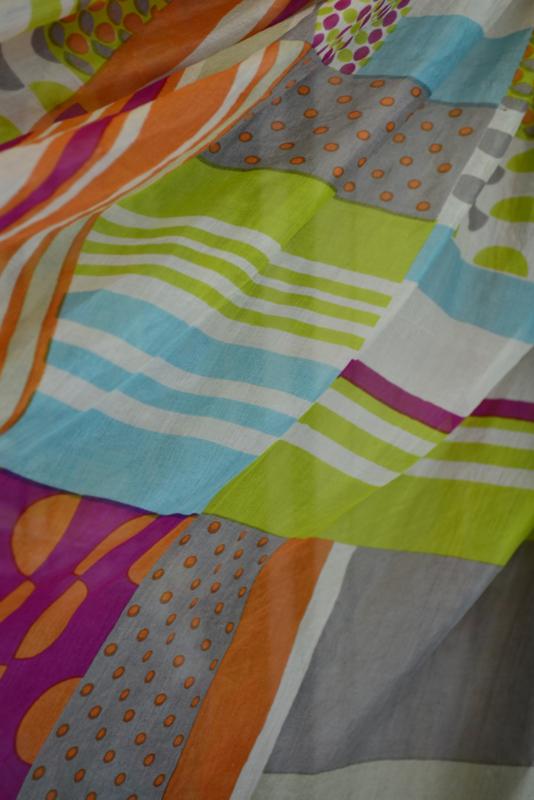 Zijden zomer sjaal