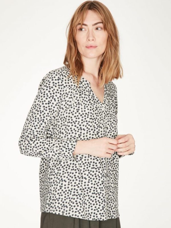 THOUGHT - DOROTHY ORGANIC COTTON BLOUSE