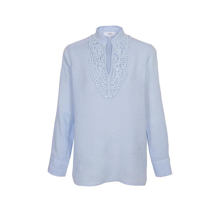 Nadine H - linnen blouse wit