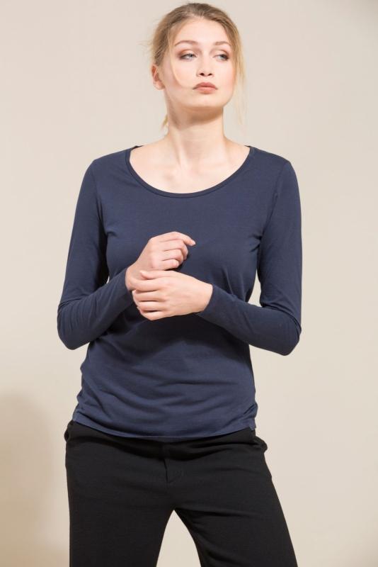 Lanius - Long sleeve organic cotton - Blue
