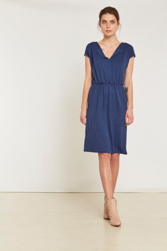 Lanius - sporty linen dress