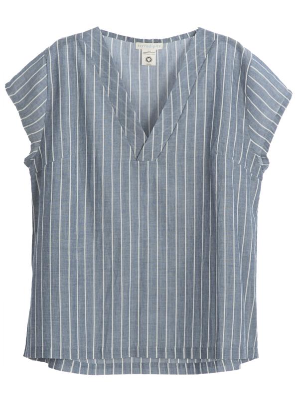 Serendipity - Blouse stripes - Organic cotton