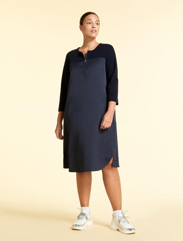 Marina Rinaldi - Dadaismo Dress - Dark blue