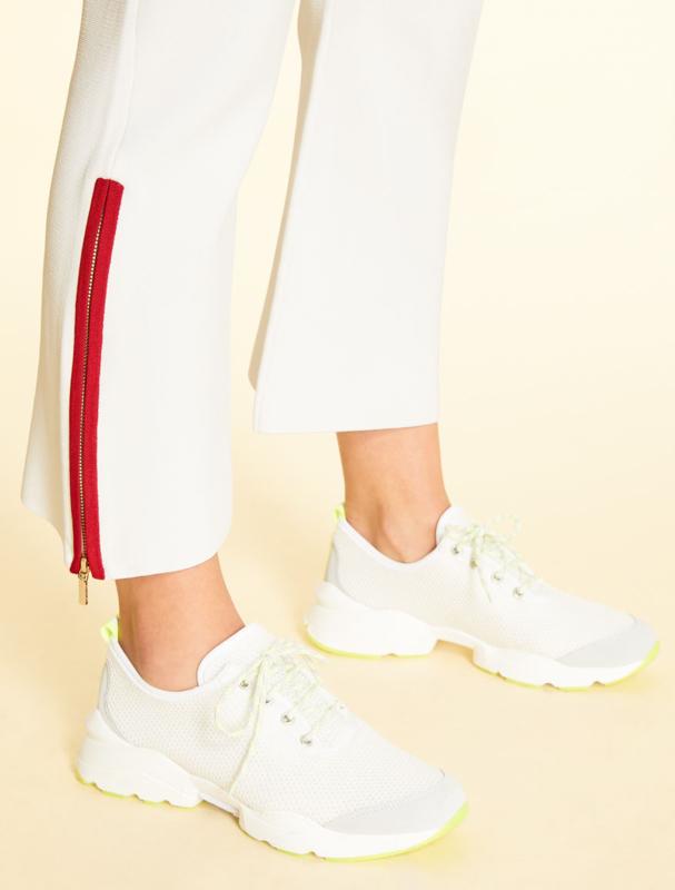 Marina Rinaldi - knit trousers white