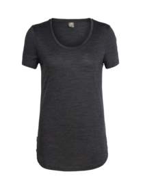 Solace SS Scoop Black/Heather