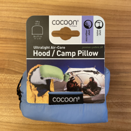 Cocoon Hood/ Camp Pillow kussentje