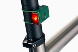 Bookman fietslamp Block Light rear Green
