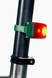 Bookman fietslamp Curve rear Green