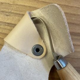 Hook Knife 164 Morakniv rechtshandig inclusief leren hoesje
