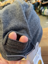 Buff Merino Wool Fleece Cap Graphite