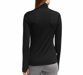 TechTop LS Half Zip Black