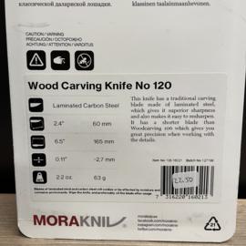 Wood Carving Knife No 120 Morakniv