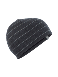 Pocket Hat Jet/Stripe Black