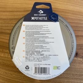 Sea to Summit XPot Kettle 1.3 liter sand