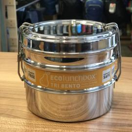 Eco Lunchbox Tri Bento RVS