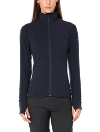 Descender LS Zip Midnight Navy