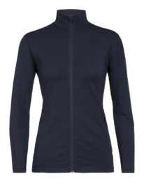 Victory LS Zip Midnight Navy dames