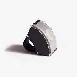 Bookman fietslamp Curve front Black