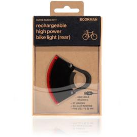 Bookman fietslamp Curve rear Black