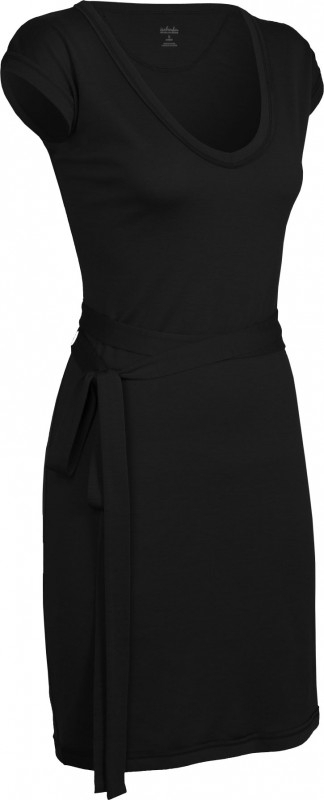 Villa Dress Black