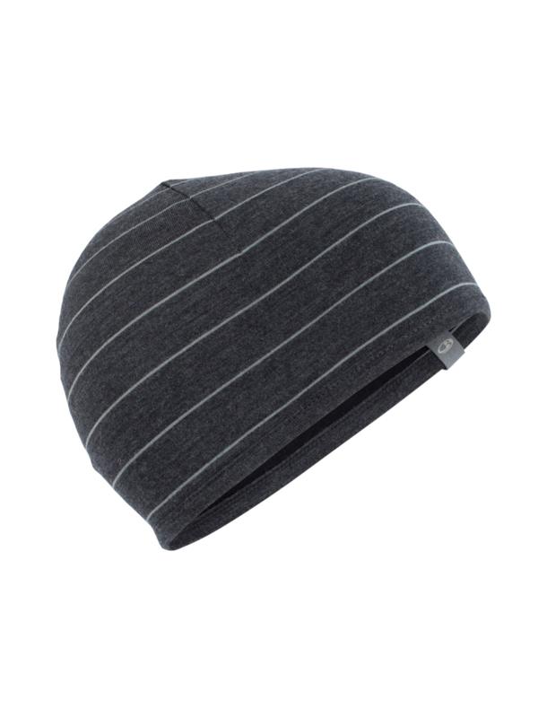 Pocket Hat Jet/Stripe Black