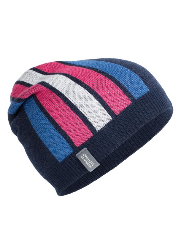 Coronet Beanie Admiral / Pelorus / Pop Pink