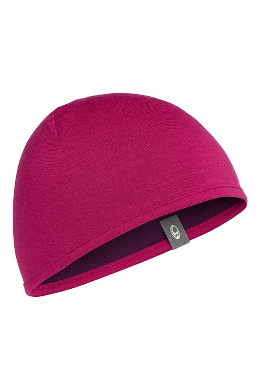 Pocket Hat Raspberry/Maroon
