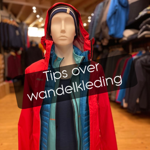 Tips over wandelkleding