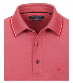 Polo Shirt Rood 993106500-439 S t/m 6XLARGE