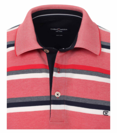 Polo Shirt Roze/Blauw 903443300-429 mt 49/50 (4XL)