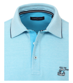Polo Shirt Blauw (Licht) 903444200-123 mt 51/52 (5XL)