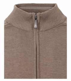 Rits Vest Taupe 4450-624 S t/m 6XLARGE